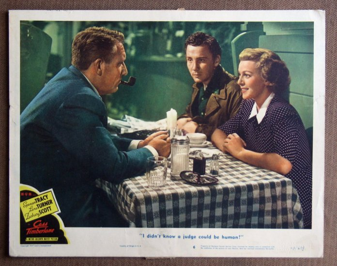 CC04 Cass Timberlane LANA TURNER and SPENCER TRACY 1948 orig  LC