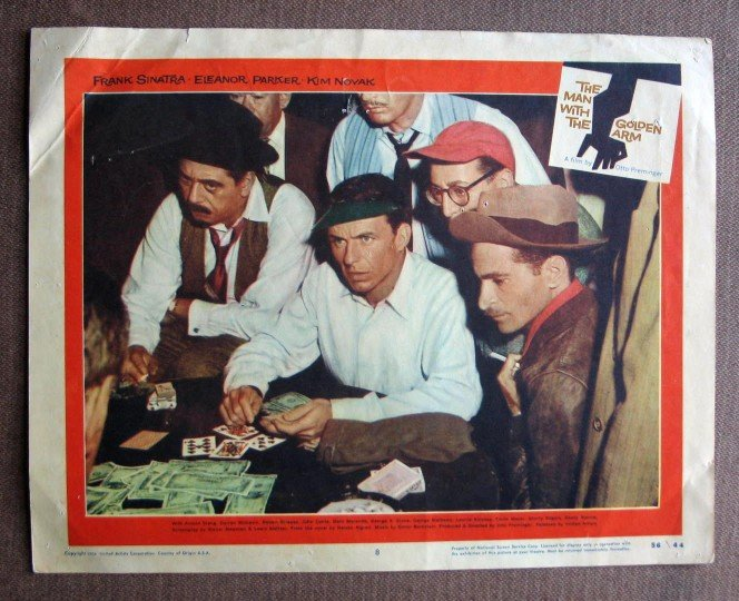 CA28 Man With Golden Arm FRANK SINATRA orig 1956 LC