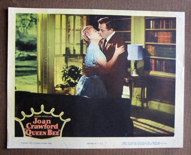 CA41 Queen Bee JOAN CRAWFORD and BARRY SULLIVAN 1955 orig LC