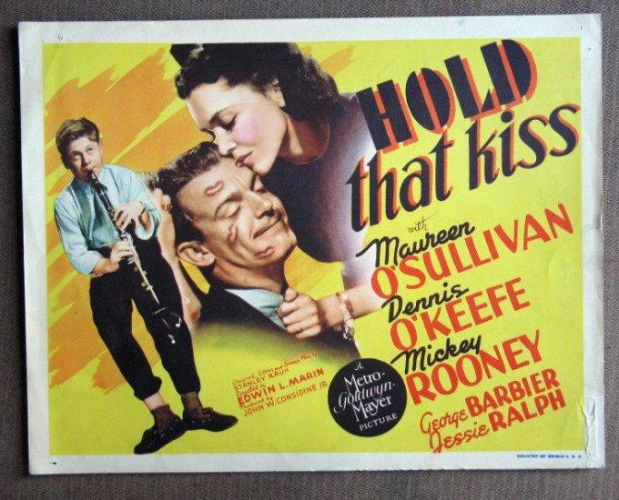 CD26 Hold That Kiss MICKEY ROONEY 1938 terrific original TC