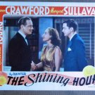 CF34 Shining Hour JOAN CRAWFORD Orig 1938 Lobby Card