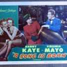 CF39 Song Is Born DANNY KAYE and VIRGINIA MAYO original 1948 lobby card