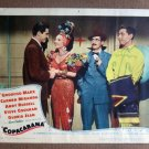 CG09 Copacabana CARMEN MIRANDA and GROUCHO MARX original 1947 Title Lobby Card