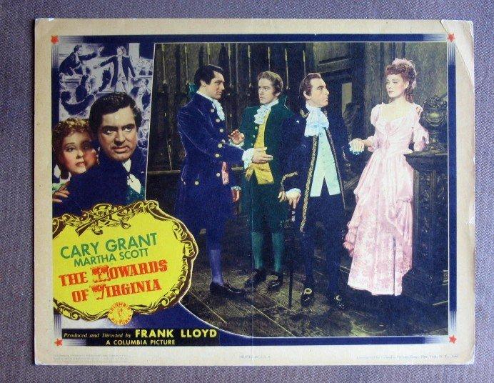 CG22 Howards Of Virginia CARY GRANT Orig 1940 Lobby Card