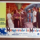 CG33 Masquerade In Mexico DOROTHY LAMOUR 1946 Lobby Card