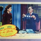 CG43 They All Kissed the Bride JOAN CRAWFORD original 1942 Title Lobby Card