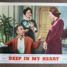 CG15 Deep In My Heart GENE KELLY and ANN MILLER original 1954 Title Lobby Card