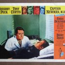 CD11 CAPT NEWMAN MD Gregory Peck and Bob Darin original 1964 lobby card