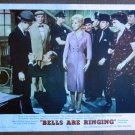 CF01 Bells Are Ringing  JUDY HOLLIDAY and JEAN STAPLETON Orig 1960 lobby card