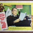 CI39 Take Her, She's Mine JAMES STEWART 1963 Lobby Card