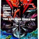 CH49 Spy Who Loved Me ROGER MOORE James Bond 007  original 1977 1 SHEET poster