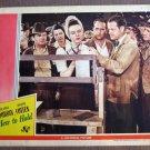 CJ21 Hers To Hold DEANNA DURBIN  Original 1943 Lobby Card