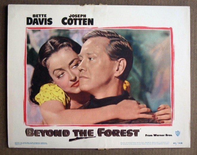 CL03 Beyond The Forest BETTE DAVIS Original 1949 Portrait Lobby Card