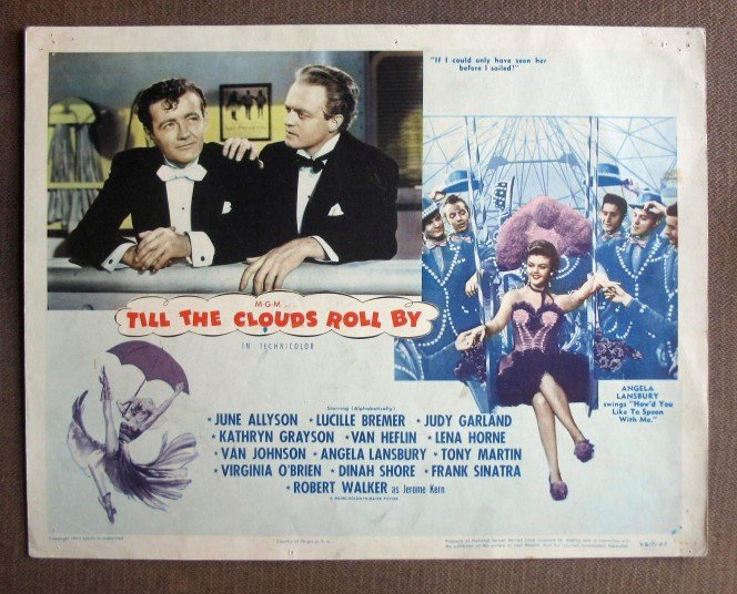 CQ47 Till Clouds Roll By DINAH SHORE  Original 1946 Lobby Card
