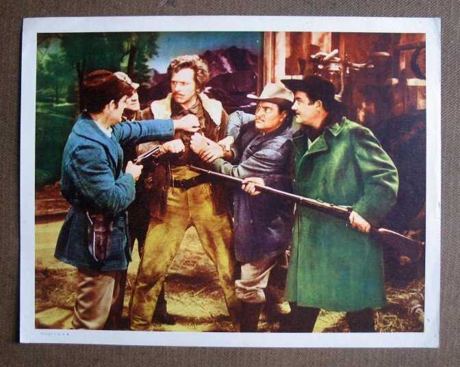 CP35 Seven Brides For Seven Brothers HOWARD KEEL Lobby Card