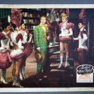 BH40 Mother Wore Tights BETTY GRABLE ORIGINAL 1947 Lobby Card