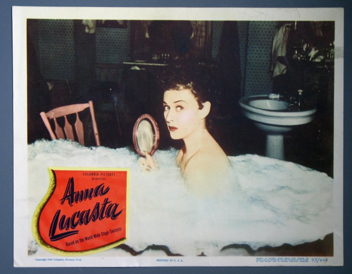 BI23 Anna Lucasta PAULETTE GODDARD ORIGINAL 1949 Lobby Card