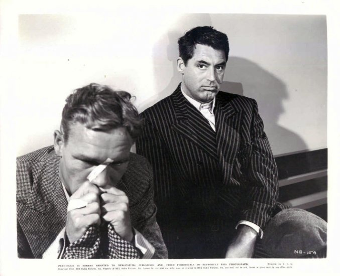 BG12 None But Lonely Heart CARY GRANT 1944 Studio Still