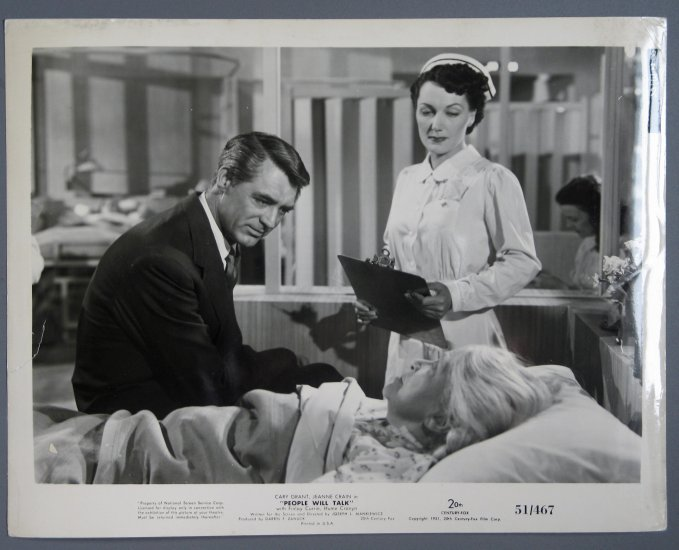 BH07 People Will Talk CARY GRANT Original 1951 Studio Still