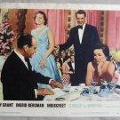 BK20 Indiscreet CARY GRANT and INGRID BERGMAN Original 1958 Lobby Card