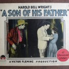 BL37 Son Of His Father BESSIE LOVE and WARNER BAXTER 1925 Lobby Card