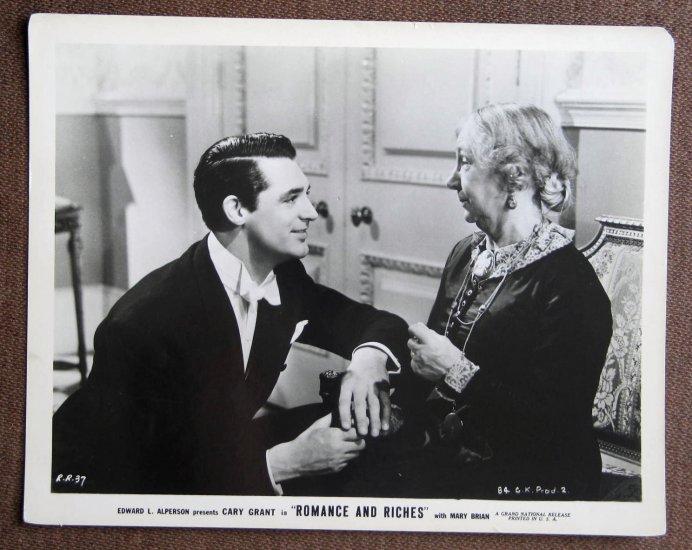 BM05 Romance & Riches CARY GRANT Original 1937 Studio Still