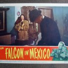BM18 Falcon In Mexico TOM CONWAY and MONA MARS Lobby Card
