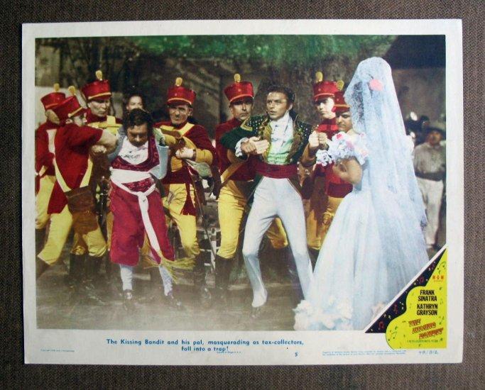 BM26 Kissing Bandit FRANK SINATRA and KATHRYN GRAYSON 1948 Lobby Card