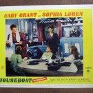 BO26 Houseboat CARY GRANT and SOPHIA LOREN 1958 Lobby Card