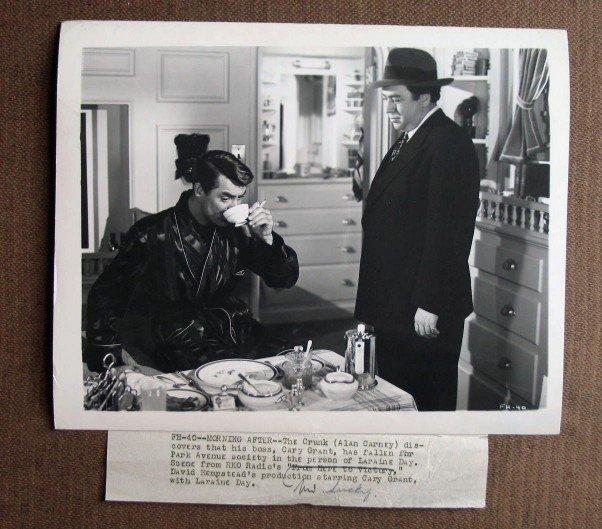 BQ08 Mr. Lucky CARY GRANT Original 1943 Studio Still with snipe