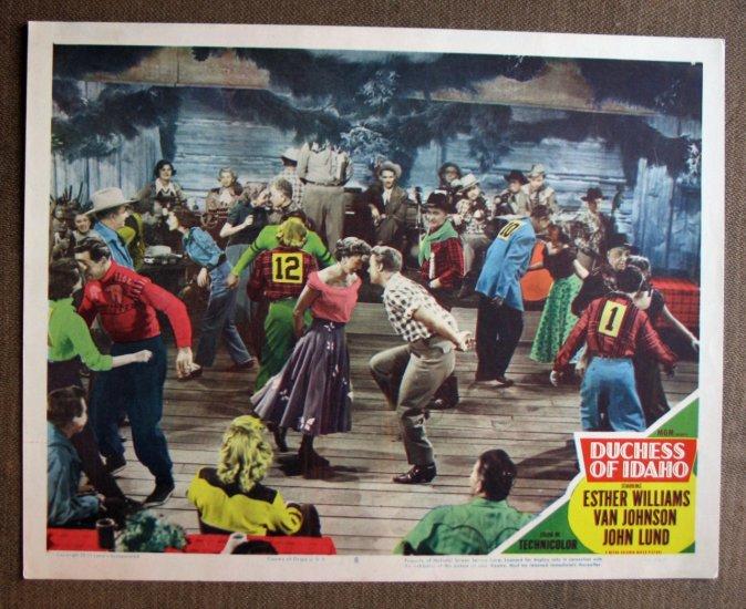 BR22 Duchess Of Idaho ESTHER WILLIAMS 1950 Lobby Card