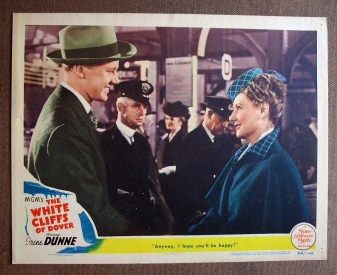 BR49 White Cliffs Of Dover IRENE DUNNE 1944 Lobby Card