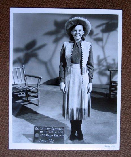 BS02 Annie Get Your Gun JUDY GARLAND (wardrobe test) Studio Still