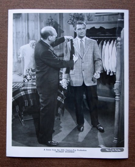 BS11 Monkey Business CARY GRANT Original 1952 Studio Still