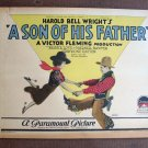 BS46 Son Of His Father BESSIE LOVE 1925 Title Lobby Card