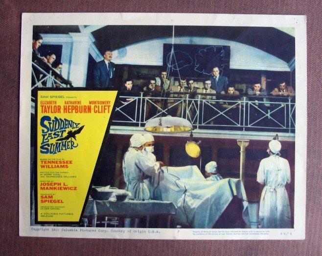 BU46 SUDDENLY LAST SUMMER Montgomery Clift Lobby Card