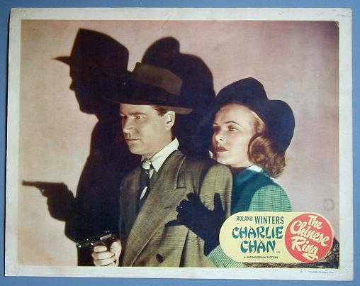 CHINESE RING Charlie Chan Roland Winters 1947   LC
