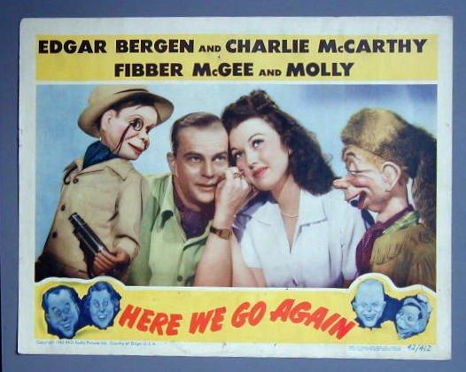 HERE WE GO AGAIN Edgar Bergan GREAT '42 LC