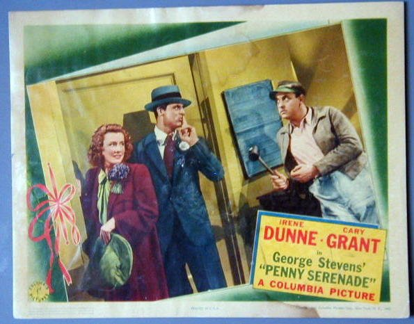 PENNY SERENADE Cary Grant/Irene Dunne orig '41 LC