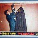 SCARLET CLUE Charlie Chan SIDNEY TOLER '45 lobby card