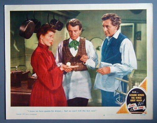 SONG OF LOVE Katharine Hepburn orig '47 LC