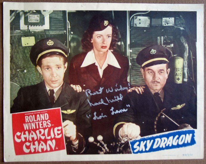 SKYDRAGON Charlie Chan ROLAND WINTERS 49 LC