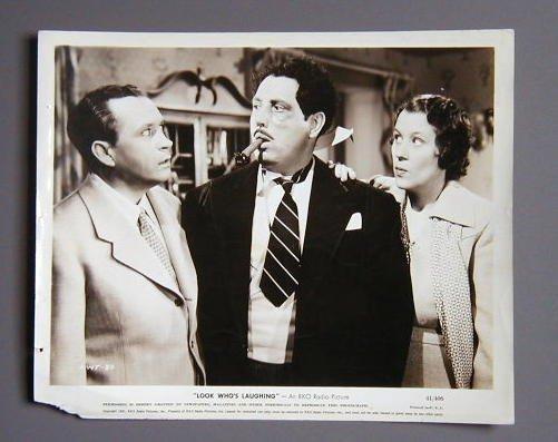 LOOK WHO'S LAUGHING Edgar Bergen original '41 still