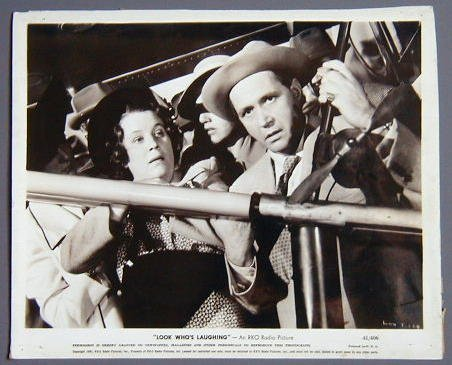 LOOK WHO'S LAUGHING Fibber McGee & Molly '41 8x10 still