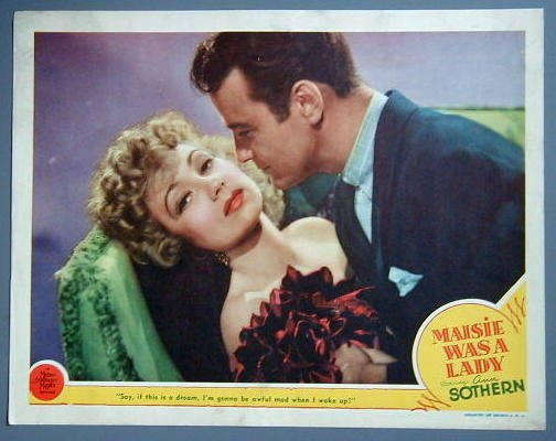 MAISIE WAS A LADY Ann Sothern close-up '45 lobby card