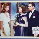 WIFE, HUSBAND and FRIEND Loretta Young original '39 Lobby Card