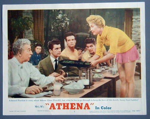 ATHENA Jane Powell original 1954 lobby card