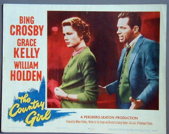 COUNTRY GIRL Grace Kelly/William Holden 1954 lobby card