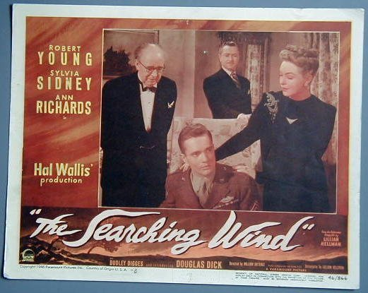 SEARCHING WIND Robert Young original 1946 lobby card