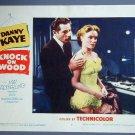 KNOCK ON WOOD Danny Kaye original '54 lobby card